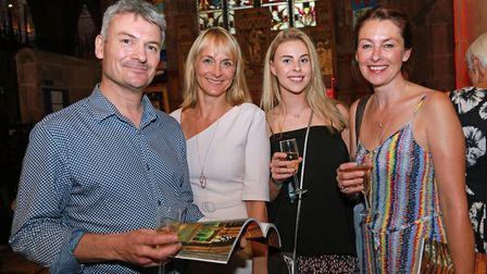 Alistair Tucker with Louise Minchin, Abigail Underhill and Lizzie Wright *** Local Caption *** ARK s