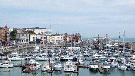 Ramsgate is home to the only 'royal' harbour in the country, an honour granted by George IV in 1821