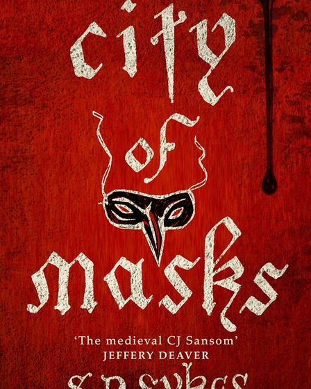 SD Sykes' new book, City of Masks