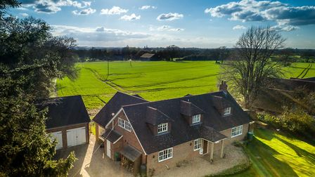 Hurst Lane, Privett, £1,000,000 - Family home with views over open countryside and impressive kitche