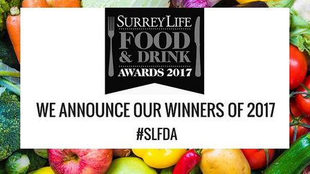 Winners of the Surrey Life Food & Drink Awards 2017