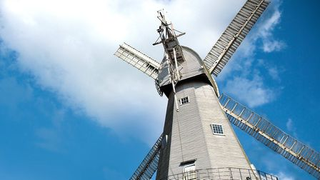 Union Mill is a Grade I listed smock mill in Cranbrook, which has been restored to working order