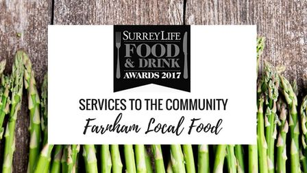 Services to the Community - Surrey Life Food & Drink Awards 2017