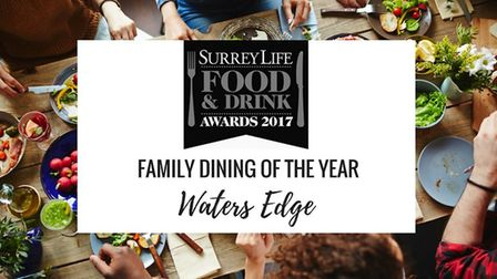 Family Dining of the Year - Surrey Life Food & Drink Awards 2017