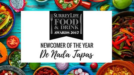 Newcomer of the Year - Surrey Life Food & Drink Awards 2017