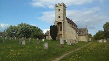 St Mary's, burial place of the Mitfords