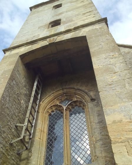 The belltower of St Mary's