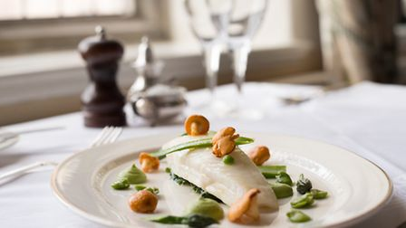 Plaice dish from the menu