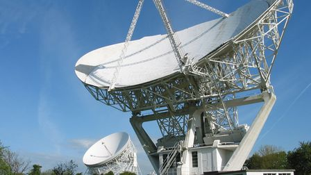 Jodrell Bank is an eyecatching iconic landmark in the heart of the Cheshire countryside