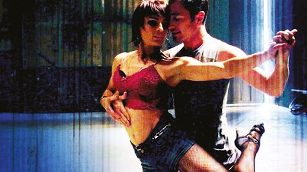 Strictly stars Vincent Simone and Flavia Cacace in Tango Moderno at The Grand Theatre, Blackpool