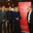 Aiden Byrne, Tim Morris, Gary Neville, Louise Minchin, Mike Perls and Jeremy Roberts