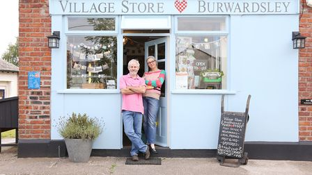 Phillip and Rachel Warner-Smith of Burwardsley Post Office and Village Store