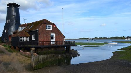 The old windmill is a local landmark overlooking Chichester Harbour and Hayling Island