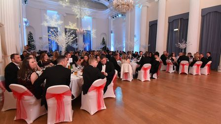 Last year's Christmas celebration was held at Pitville Pump Rooms (c) Rob Lacey Photographer