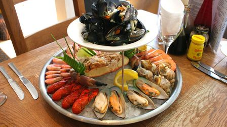 White's seafood platter