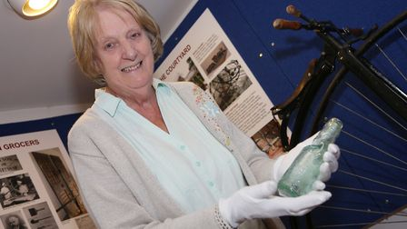 Val Bryant of Knutsford Heritage Centre