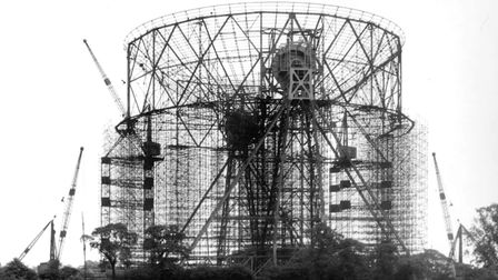 All those years ago: the giant telescope under construction