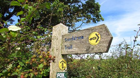Explore the Sandstone Trail this autumn