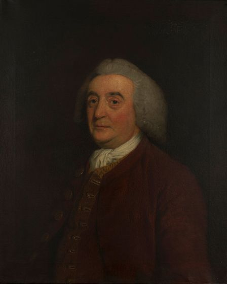 John Stafford, painted by Joseph Wright