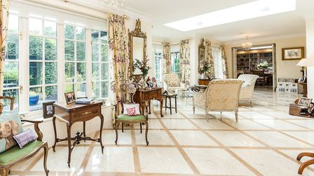 The vast orangery has transformed the ground floor of the house (photo: Strutt & Parker)