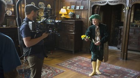 Behind the scenes of shooting the trailer and stills photography for the RSC's production of Twelfth