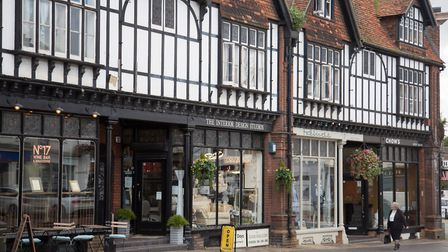 Westerham has everything from a post office and pharmacy to gift shops and furniture stores