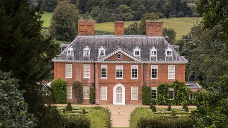Squerryes Court, home to General Wolfe's great boyhood friend, George Warde; the house has been in t