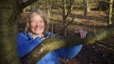 Beccy Speight, CEO of Woodland Trust (Photo by Neil Hepworth/Woodland Trust)
