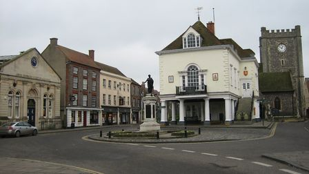 Wallingford (Oxon), one of the 'doubles' for 'Causton'. Photo by 'Sciencebloke'