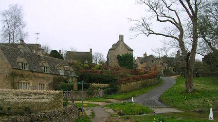 Upper Slaughter, another 'Father Brown' Cotswolds backdrop. Photo by 'Charlesdrakew'