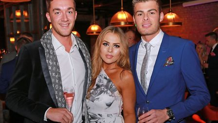 George Dermott, Sophie Reed and Seb Morris