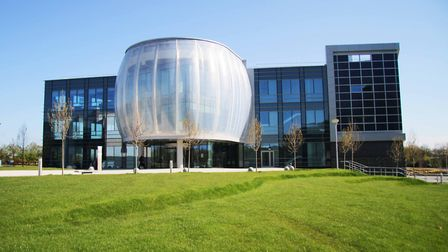 Stevenage Bioscience Catalyst opened in 2012. It is the UK's first open innovation biomedical campus