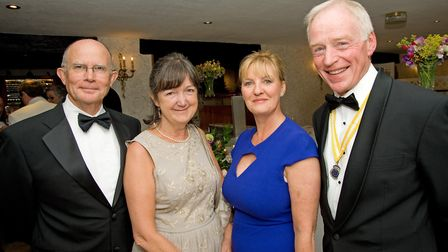 Jed and Cathy Fitzgerald with Janice and Ted Donnelly
