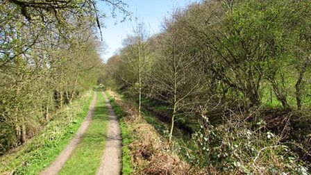 Dane Valley Way beside the old canal