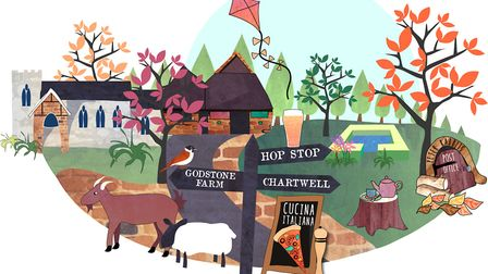 Oxted illustration