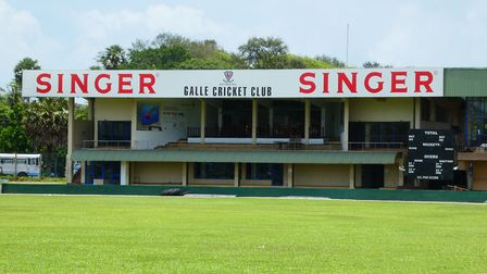 Stand at Galle Cricket Club