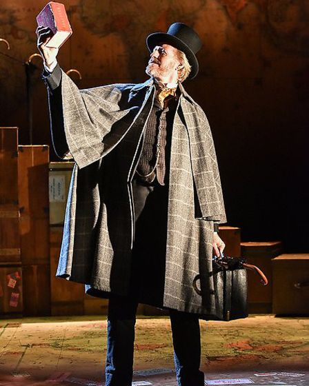 Andrew Pollard as Phileas Fogg. Around The World in 80 Days.