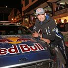The current Rally World Champion, Sebastian Ogier and his Ford Fiesta R5 WRC