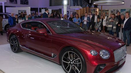 The new Bentley GT Continental
