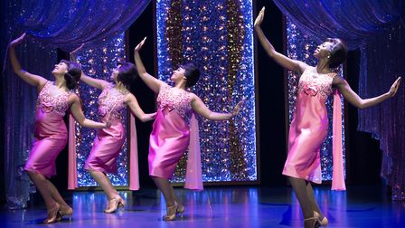 The Shirelles (Ensemble) perform Will You Love Me Tomorrow, in Beautiful, The Carole King Musical