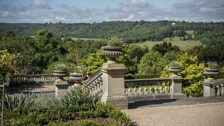 The spectacular view from Beaverbrook's The House
