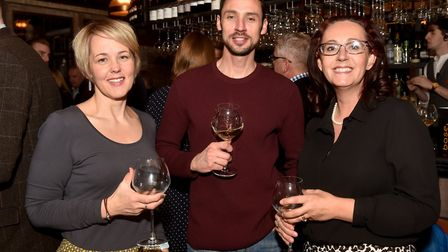 Jo Cunningham, James Roberts and Amy Waugh
