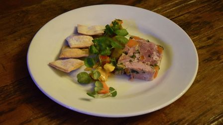Ham Hock Terrine at The Rivals