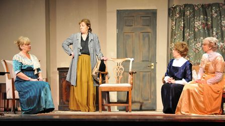 Members in the most recent production, When we are Married by J B Priestley: Julia Burgess, Carole S