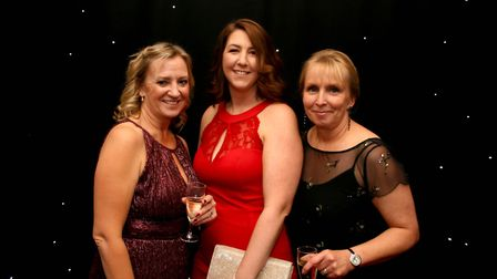 Claire Warren, Sarah Dale and Joanne Woodcock