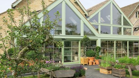 Courses are held in the new Daylesford Garden Shop (c) Mandy Bradshaw