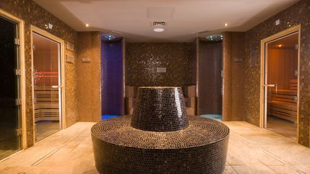 The new thermal suite at Macdonald Craxton Wood Hotel & Spa