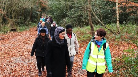 There are more than 60 Health Walks on offer every week taking in our wilder places
