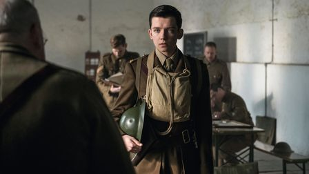 Asa Butterfield as eager new recruit Raleigh. Photo by Nick Wall