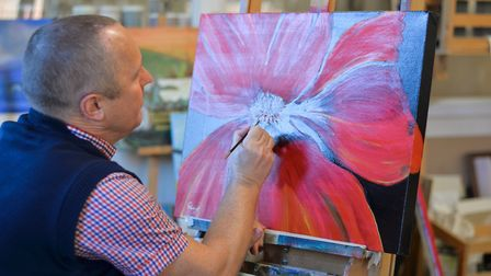 Art therapy at Leatherhead-based Combat Stress